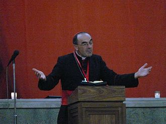 Paris-Sorbonne University - Philippe Barbarin (born 1950), French Catholic Archbishop of Lyon and cardinal.