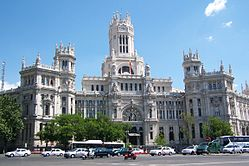 Palacio de Comunicaciones, one of the many great sights to see in Madrid