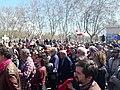 Madrid recuerda a las 3.000 víctimas asesinadas por el franquismo en el cementerio del Este 02.jpg