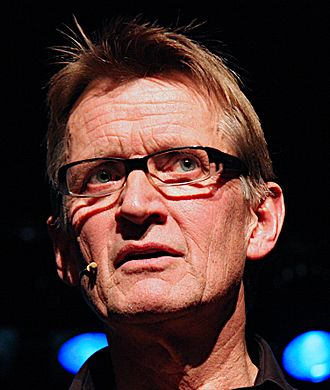 Al-Shifa Hospital - Mads Gilbert. Norwegian medical doctor known for his humanitarian work at the hospital.