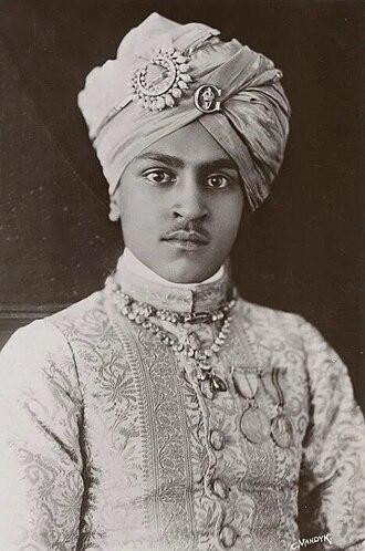 Bharatpur, Rajasthan - The Maharajah Kishan Singh of Bharatpur, 1916