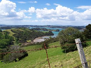 Warkworth, New Zealand - Mahurangi Harbour