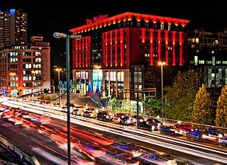 Mailbox Birmingham Shopping mall in Birmingham, England