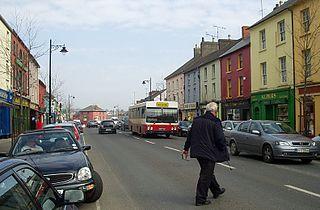 Gorey Town in Leinster, Ireland