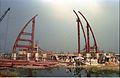 Main Auditorium Under Construction - Convention Centre Complex - Science City - Calcutta 1994-11-03 467.JPG