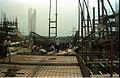 Main Auditorium Under Construction - Convention Centre Complex - Science City - Calcutta 1994-11-03 490.JPG