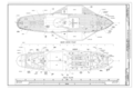 Main Deck Plan, Hold Plan - Steam Tug EPPLETON HALL, Hyde Street Pier, San Francisco, San Francisco County, CA HAER CAL,38-SANFRA,167 (sheet 5 of 7).png