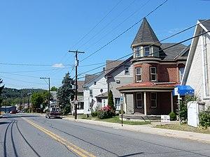 Walnutport, Pennsylvania - Main Street in Walnutport