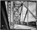 Main span framing, looking north. - Sewickley Bridge, Spanning Ohio River, Sewickley, Allegheny County, PA HAER PA,2-SEW,1-7.tif