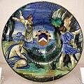 Maiolica di urbino, francesco xanto avelli, cefalo e procri, 1532 ca.jpg