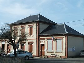 The mairie in Lacapelle-Ségalar