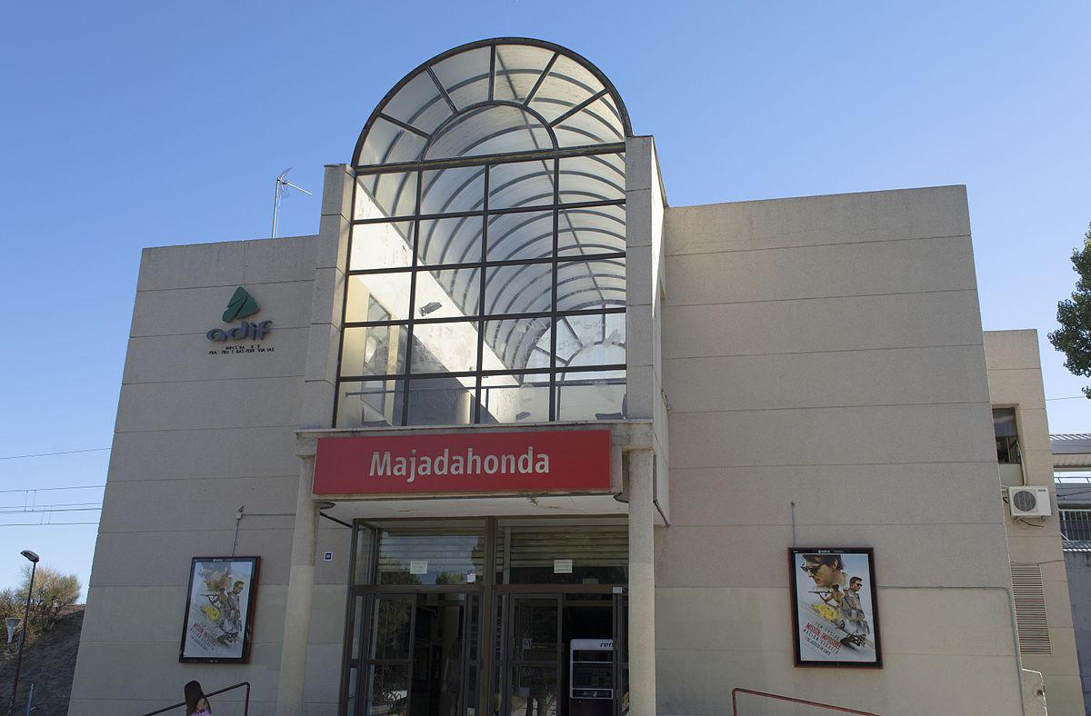 Honda El Monte >> Estación de Majadahonda - Wikipedia, la enciclopedia libre