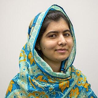 Malala Yousafzai Pakistani childrens education activist