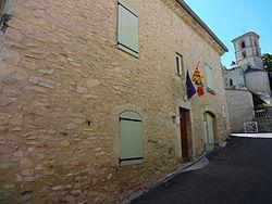 Mallefougasse-Augès, façade rue mairie.JPG