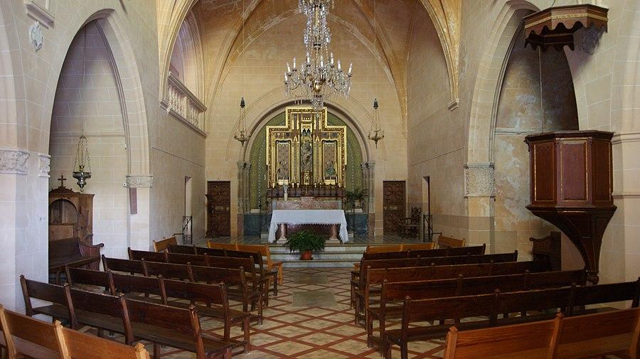 Mallorca-Monti Sion-Church-Main Altar-07
