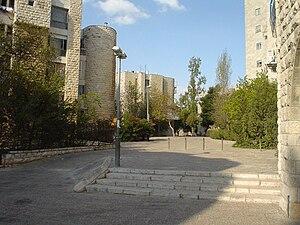 Ma'alot Dafna - Pedestrian passage in Ma'alot Dafna