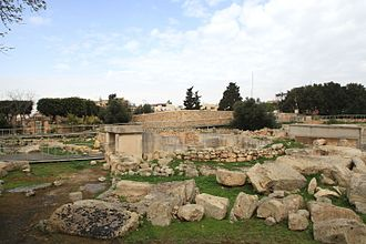 Tarxien Temples - Entrance to the Tarxien Temples