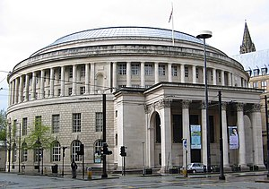 Grade II* listed buildings in Greater Manchester - Manchester Central Library
