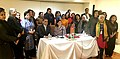 Maneka Sanjay Gandhi in a meeting with the Civil Society Organizations working on women's issues, on the sidelines of the 60th Session of the UN Commission on Status of Women, in New York, USA.jpg