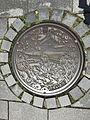Manhole cover of Tsuwano, Kanoashi, Shimane.jpg