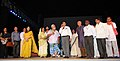 Manish Tewari addressing at the inauguration of the Priya Sound and Light Show, in New Delhi on September 18, 2013. The Principal Director General (M&C), Press Information Bureau, Smt. Neelam Kapur is also seen.jpg