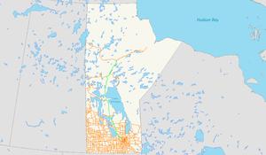 Manitoba Highway 6 - Manitoba Provincial Hwy 6