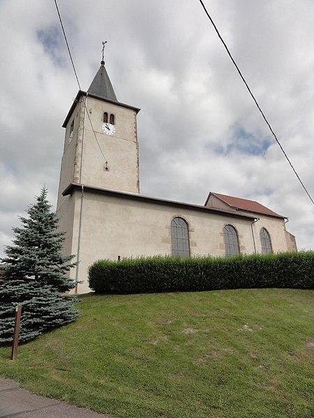 Manonviller (M-et-M) église