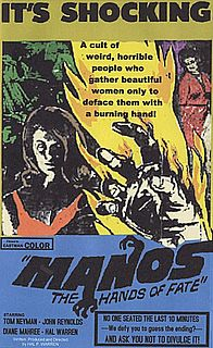 <i>Manos: The Hands of Fate</i> 1966 film by Harold P. Warren