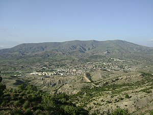 Babor Mountains - Image: Mansoura 1000