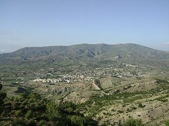 Babor Mountains - Image: Mansoura 1000