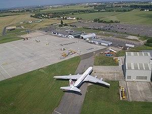 Manston Airport - Image: Manston Airport aerial view