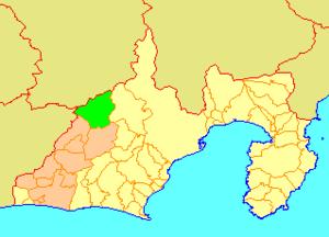 Misakubo, Shizuoka - Image: Map.Misakubo.Shizuok a