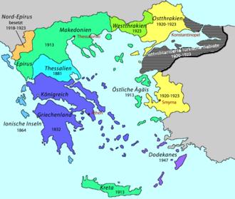 große griechenland karte
