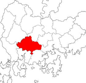 Location of Jinju