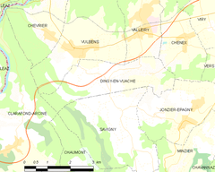 Map commune FR insee code 74101.png