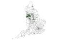 Map of Bargain Booze outlets in England, January 2016.png