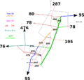 Map of I-95 discontinuity in NJ.png