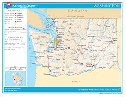 Washington – Mappa