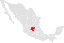 Situs Guanahuati in Mexico