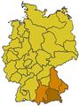 Mappa della Provincia ecclesiastica di Monaco (Germania).png