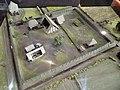 Maquette de la ferme du Patural, Musée Bargoin - vue de dessus.jpg