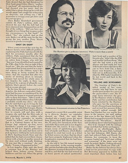 March 1, 1976, story about SLA members Bill and Emily Harris March 1, 1976 Newsweek story on Bill and Emily Harris.jpg