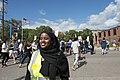 March organizer at a march against Islamophobia (29123286114).jpg