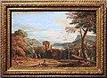 Marco ricci, paesaggio con boscaioli e cavalieri, 1710-30 ca.jpg