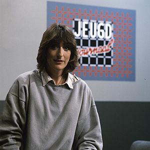 Jeugdjournaal - Jeugdjournaal presenter Marga van Praag, (1984)