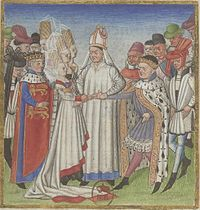 Mariage Geoffroi, duc de Bretagne et Havoise de Normandie.JPG