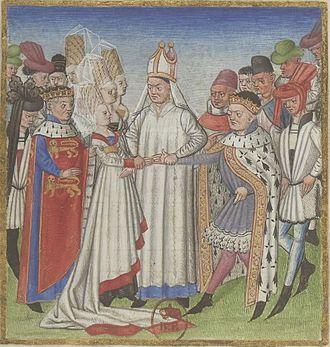 Geoffrey I, Duke of Brittany - Image: Mariage Geoffroi, duc de Bretagne et Havoise de Normandie