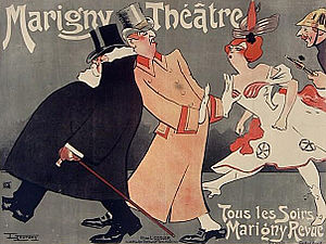 Théâtre Marigny - Image: Marigny Théâtre 1906 (1)