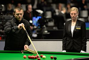 Mark Allen (snooker player) - Mark Allen at the 2015 German Masters