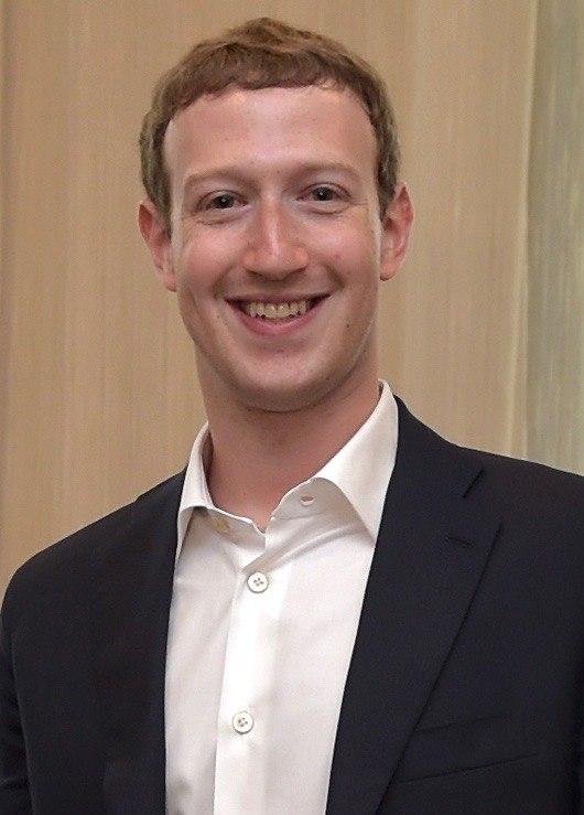 Mark Zuckerberg em setembro de 2014